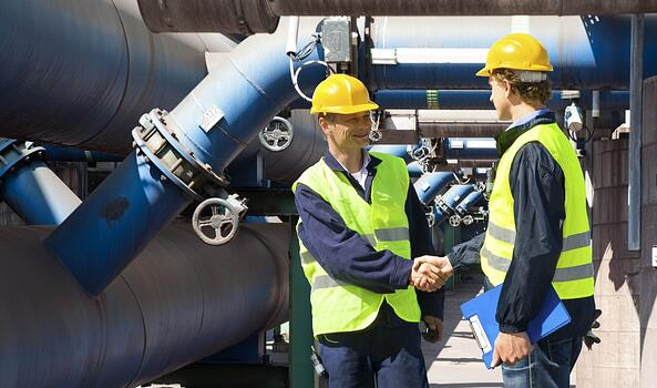 Handshake by Supply Pipes
